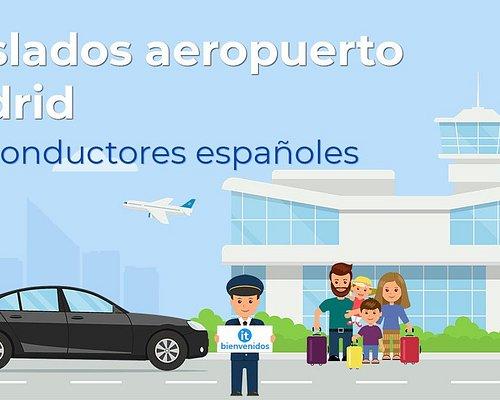 Traslados aeropuerto Madrid con conductores españoles