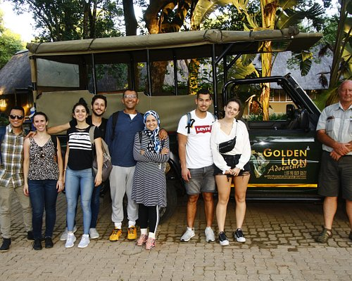 Very friendly guests (International) on a full day safari with us. We were searching for the famous big 5 in the Kruger National Park. We laughed a lot and enjoyed the day together.