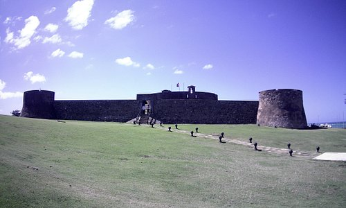 Fort San Felipe --- the history ... might be 1 or 2 years old. Wow!