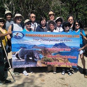 Welcome to Komodo Island group from Norwegian Jewel Cruise Ship