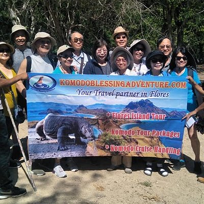 Welcome to Komodo Island group from Norwegian Jewel Cruise Ship