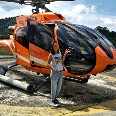Good experience with Helicopter for sightseeing Phuket Island it is not  expensive than you think ....Everyone can fly