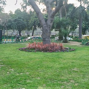 Roundabout at Shanti Path