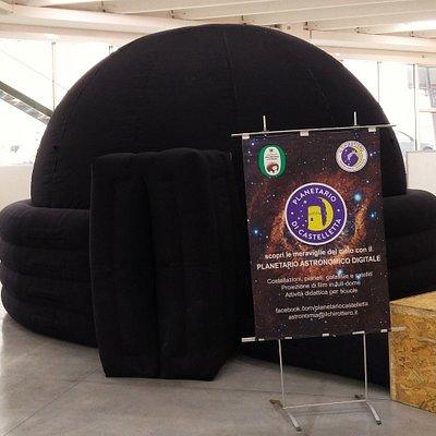 Il Planetario a Tipicità 2018 presso il FermoForum