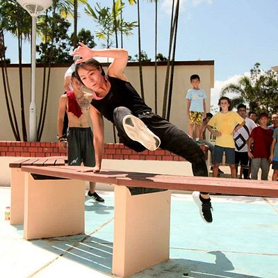 Parkour classes for adults