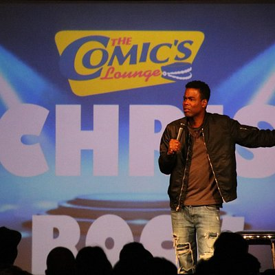 Chris Rock drops into the Comics Lounge!