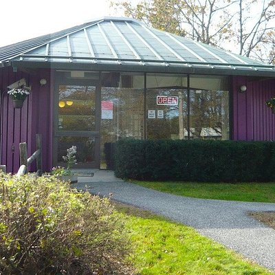 Fabricate is located in a unique dome-shaped building that once served as a bank! Inside you'll find fabrics, papers, stickers, supplies and notions, books, needlecrafts, and so much more! An Island of Inspiration in Bar Harbor, Maine!