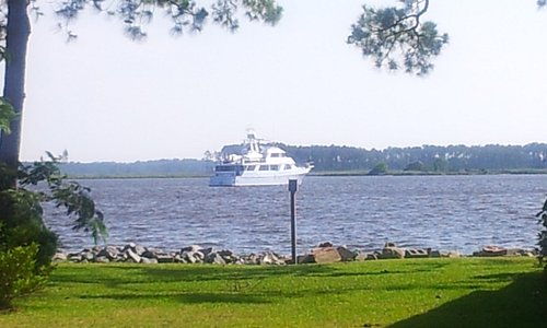 View of the Belhaven Harbor