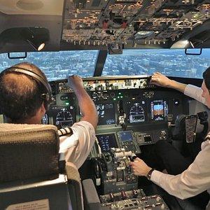 Flying into Hong Kong Kai Tak