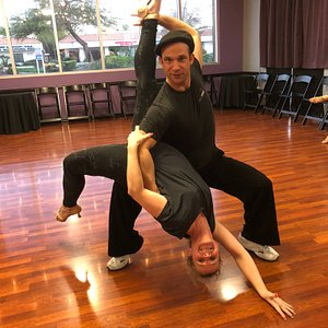 Personal instructors can teach you how to dance and have fun!  Alex & Billie show off their moves!