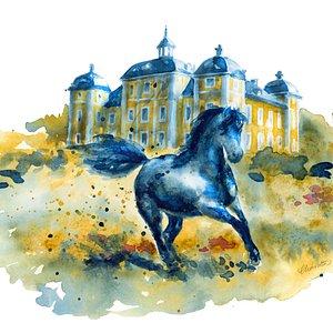 Bild på Hästmuseum Strömsholm