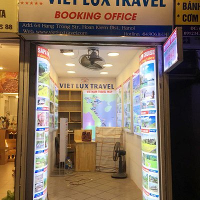 Viet Lux Travel's Booking Office: 64 - Hang Trong St., Hanoi