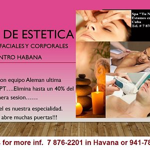 While in Havana, don't forget to get the best facial at this Spa-Salon