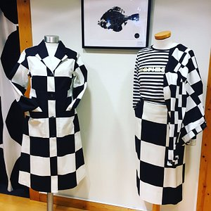 Beautiful graphic black and white prints from Marimekko. The original design from Finland.