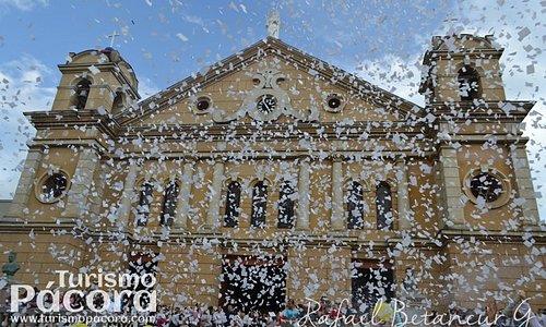 El Templo San José es el Patrimonio Arquitectónico y Cultural más importante del municipio de Pácora, Caldas. Su construcción se inició el año 1873. Su estilo arquitectónico está enmarcado en el románico y barroco en su interior y el clásico grecorromano en su fachada exterior.