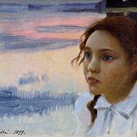 Eero Järnefelt, Nelma, 1899, öljy, Järvenpään taidemuseo. Kuva: Matias Uusikylä / Järvenpään taidemuseo