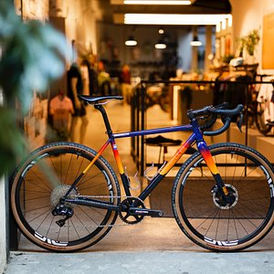 Our handmade, steel bikes are a treat!