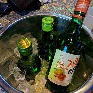 Buy 2 Soju bottles, get one free!