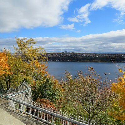 La Promenade des Gouverneurs en automne