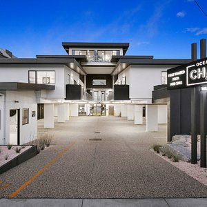Entry to the Ocean Grove Chalet