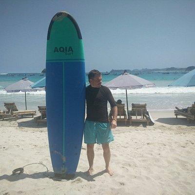 Best surfing school at Selong Belanak