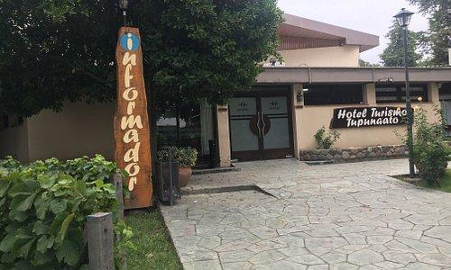 Centro de informes turísticos ubicado en el Hotel Turismo Tupungato.