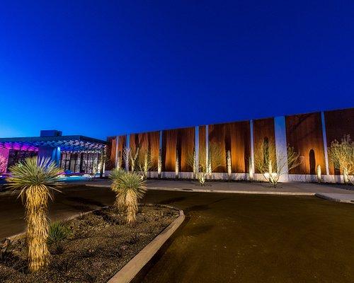 Chandler Museum at dusk
