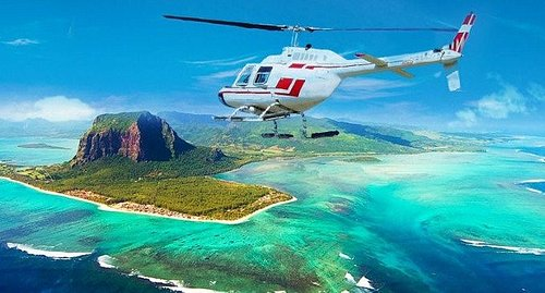Underwater Water Fall , visit bt Helicopter Trip