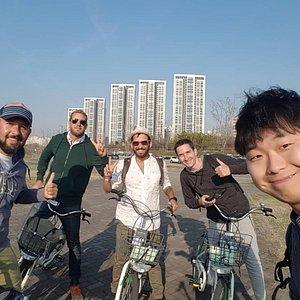 hanriver bicycle tour