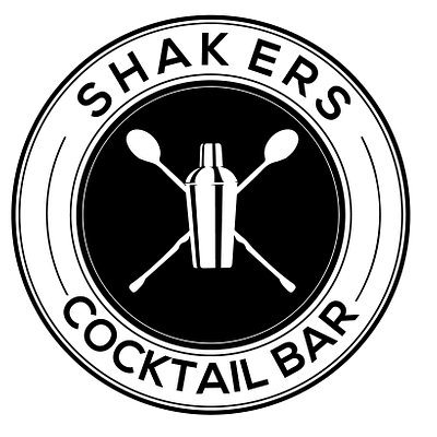 Shakers Cocktail Bar Logo!