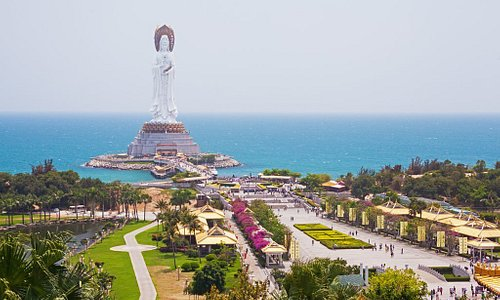 Hainan is an island province of China and the nation's southernmost point. It's known for its tropical climate, beach resorts and forested, mountainous interior. The southern city of Sanya has many beaches that range from 22km-long Sanya Bay to crescent Yalong Bay and its luxury hotels. Outside Sanya, the hilly hiking trails of Yanoda Rainforest Cultural Tourism Zone pass over suspension bridges and by waterfalls.