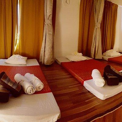 Traditioneller Thaimassage Raum