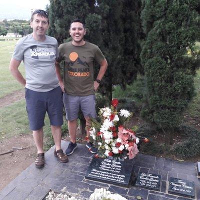 Pablo's grave