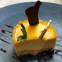 Dessert : Bavarois à la clémentine, tout un poème....!