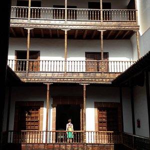 binnengevel Casa-Palacio Salazar