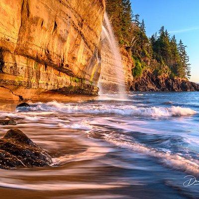 Mystic Beach, Juan de Fuca Trail, Victoria, BC Canada