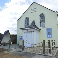 This is the Discovery Centre, located in a former Methodist Church that dates from 1849.