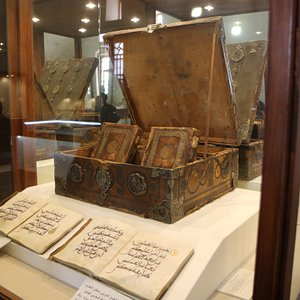 Ornate Quran and case