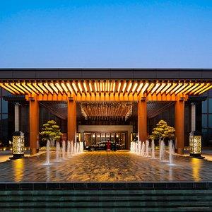 Yanqi Hotel entrance