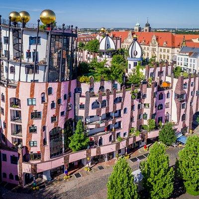 Herzlich Willkommen in der Grünen Zitadelle von Magdeburg!  Besuchen Sie uns im Herzen der Landeshauptstadt!