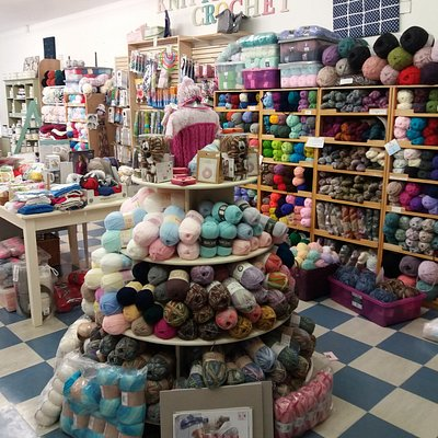 Only  wool shop in the area