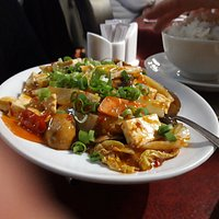 VEGETARIAN BEANCURD WITH SPICES