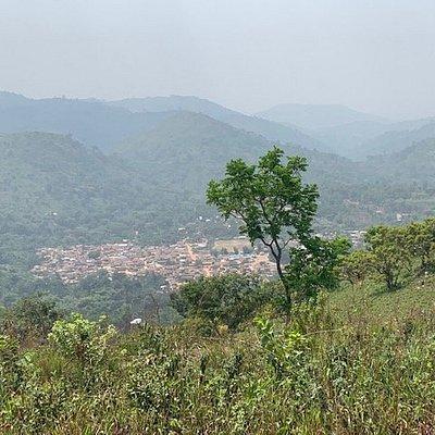 View toward town