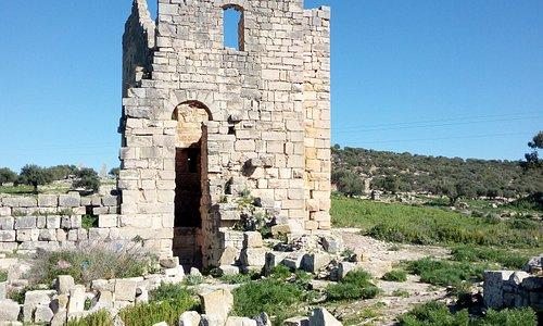 La Tour d'angle de la forteresse byzantine du milieu du VIe siècle