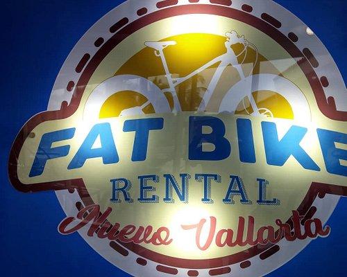 FAT BIKE RENTAL.. The way to tour around Nuevo Vallarta and Bucerias.