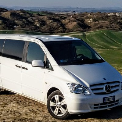 Comfy minivan for up to 8 passengers