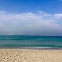 Spiaggia e mare alla Jumeirah beach