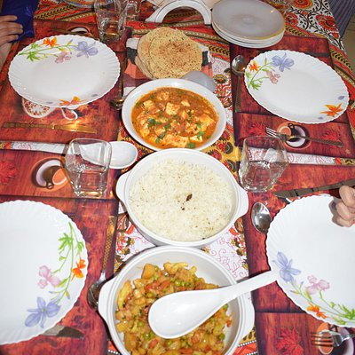 Indian specialties @ Chez Anzali..