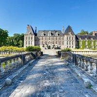 Le château de Courances par Philippe Bajcik