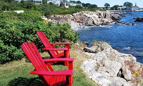 The beautiful Maine coast